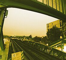 metro over Paris by busteradams