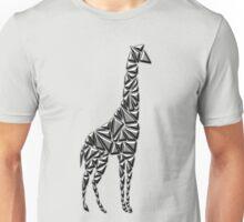 Metallic Giraffe Unisex T-Shirt