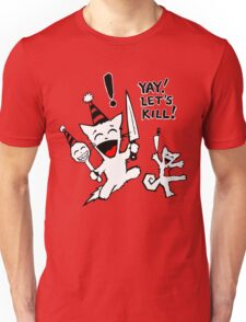 Squirrel and Cat Funtime Let's Kill Tee Unisex T-Shirt