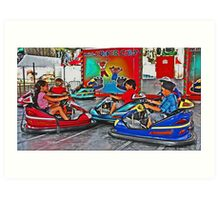Driving School Art Print