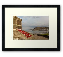 Remembering the Dead Framed Print