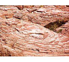 Fingerprint rock Photographic Print