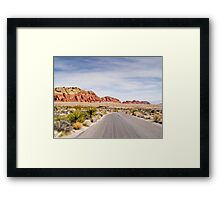 Winding Parkway Framed Print