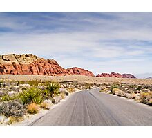 Winding Parkway Photographic Print