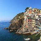 Riomaggiore by Emma Holmes