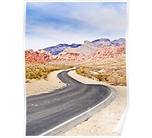 Winding Road - Tall Shot Poster