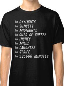 Seasons of love Classic T-Shirt