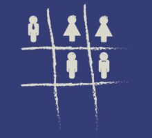 Noughts & Crosses (girls) by RedCreative