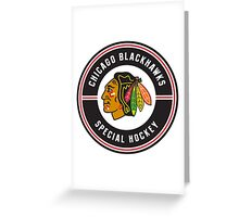 chicago blackhawk Special Greeting Card