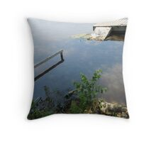 Where's the Jetty?  P6200431 Throw Pillow