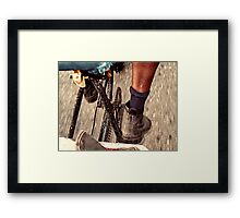 Bicycle taxi Framed Print