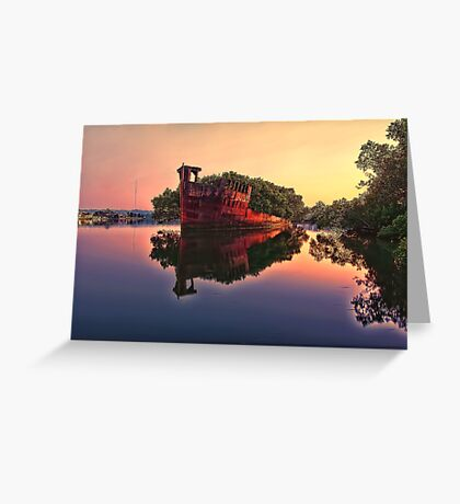 Shipwreck @ Homebush Bay Greeting Card