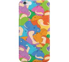 Happy Hippos iPhone Case iPhone Case/Skin