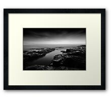 The Channel's Destiny Framed Print