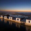 Merewether Ocean Baths at Dawn by peter