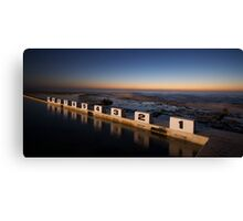 Merewether Ocean Baths at Dawn Canvas Print