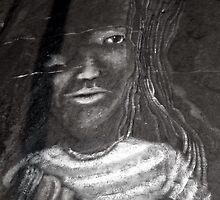 Faces on Rock II by HELUA