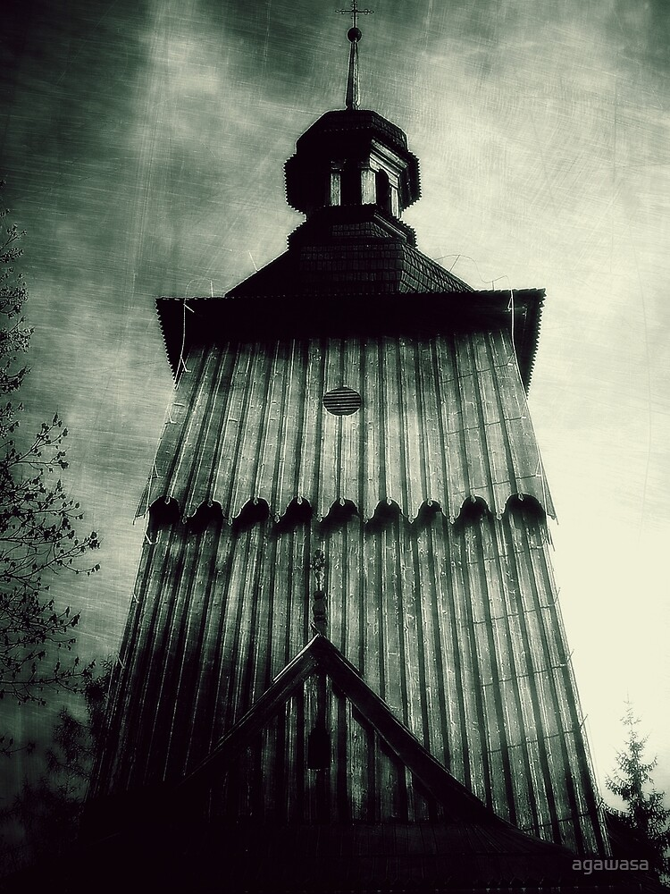 wooden church  by agawasa