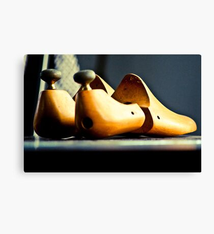 Mr Bally at home...On 4 Featured Works Canvas Print