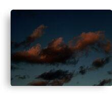 September Sunset (0084) Canvas Print