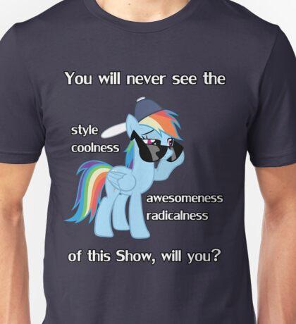 Rainbow Dash Style Unisex T-Shirt