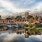 Aylesford Village by Sue Martin