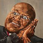 'Desmond Tutu' - Inspiration by A3Art