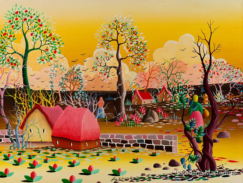 WORK IN THE FIELDS by Loredana Martorana