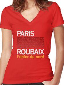 Paris Roubaix Women's Fitted V-Neck T-Shirt