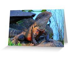 Botanic Dragon Greeting Card