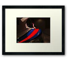 Martini Porshe. Framed Print