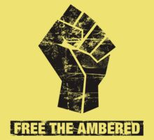 FREE THE AMBERED One Piece - Short Sleeve