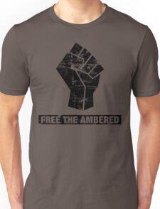 FREE THE AMBERED Unisex T-Shirt
