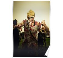 Zombie of the Month - February Poster