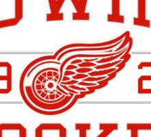 Red Wings Hockey Sticker