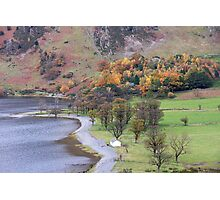 Buttermere in Autumn Photographic Print