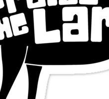 Praise The Lard Sticker
