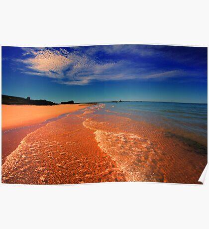Where Desert Meets Sea Poster