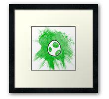 Yoshi Egg Framed Print