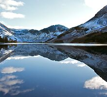Winter reflections in Buttermere by Annabelle Studholme