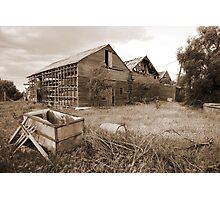Abandoned winery 4 Photographic Print