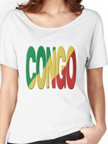 Congo flag Women's Relaxed Fit T-Shirt