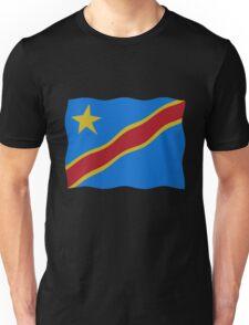 DR Congo flag Unisex T-Shirt