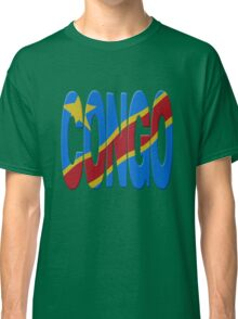 DR Congo flag Classic T-Shirt