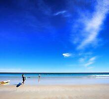 Big Blue Sky by Jill Fisher