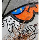 NYC Graffiti  iphone case 4 ADHD by andytechie