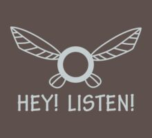 Navi Hey Listen Shirt by carnivean