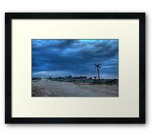 Outback Cafe Framed Print