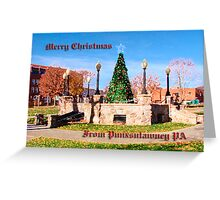 Merry Christmas from Punxsutawney Greeting Card