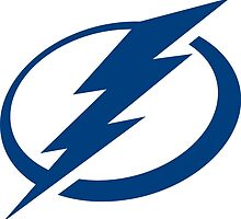 Tampa Bay Lightning Logo  by SallyDunfee